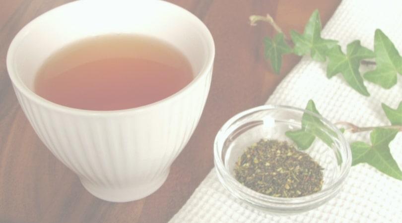 ルイボスティーと茶葉の画像