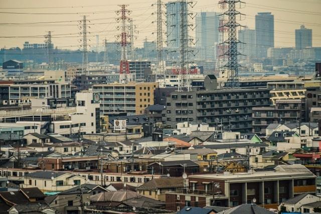 川崎の工場風景の画像